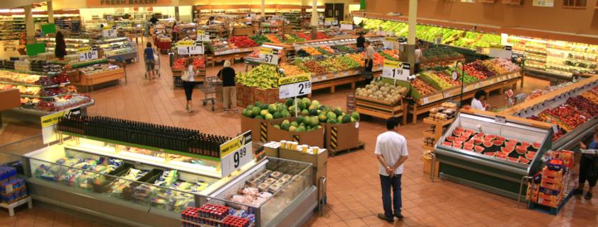 seguridad supermercados